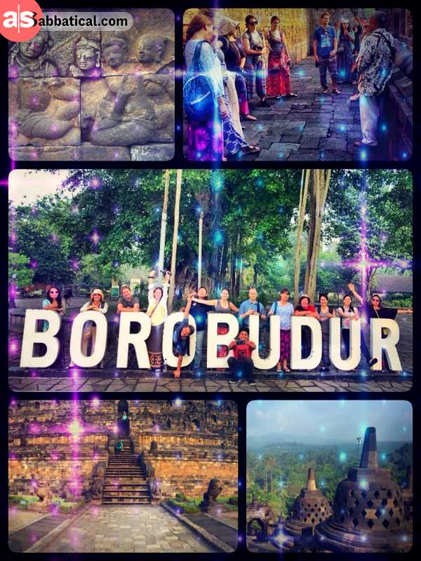 Borobudur - exploring the largest Buddhist temple in the world based in Indonesia