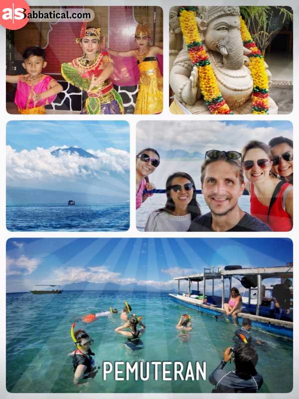 Pemuteran - taking the ferry from Java to Bali and finding a quiet and lovely paradise