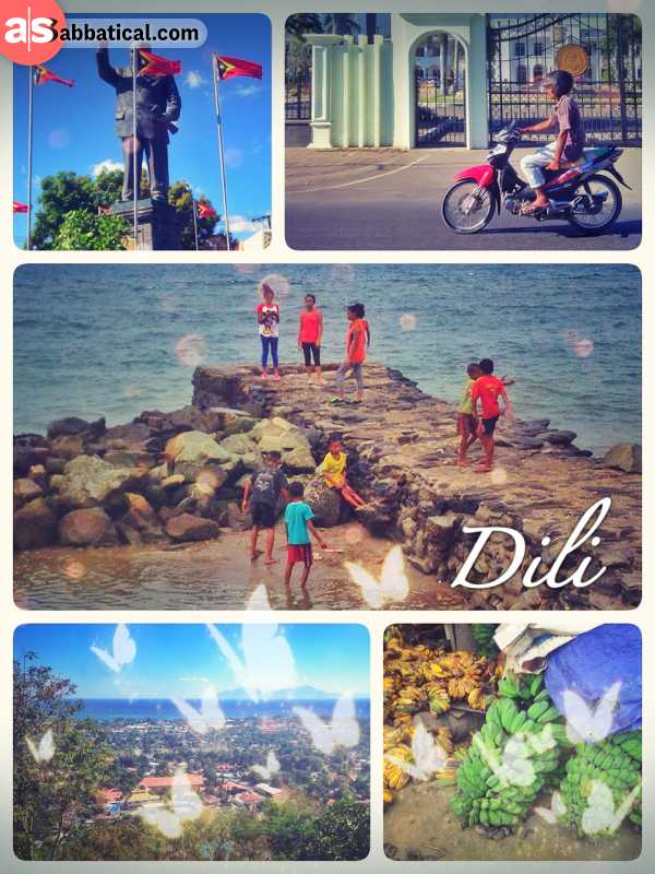 Dili - small and underdeveloped capital of the young nation of Timor Leste