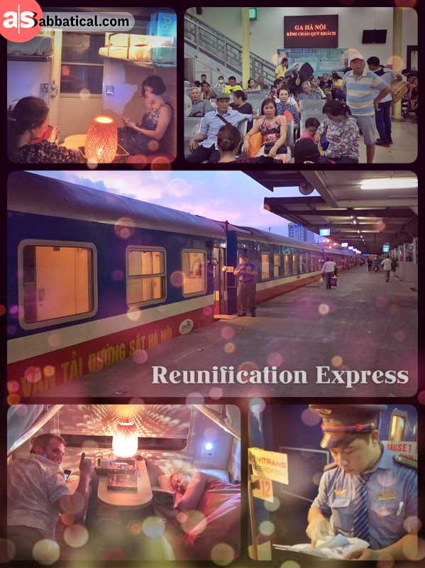 Reunification Express - spending 3 nights on the North-South Railway from Hanoi to Saigon