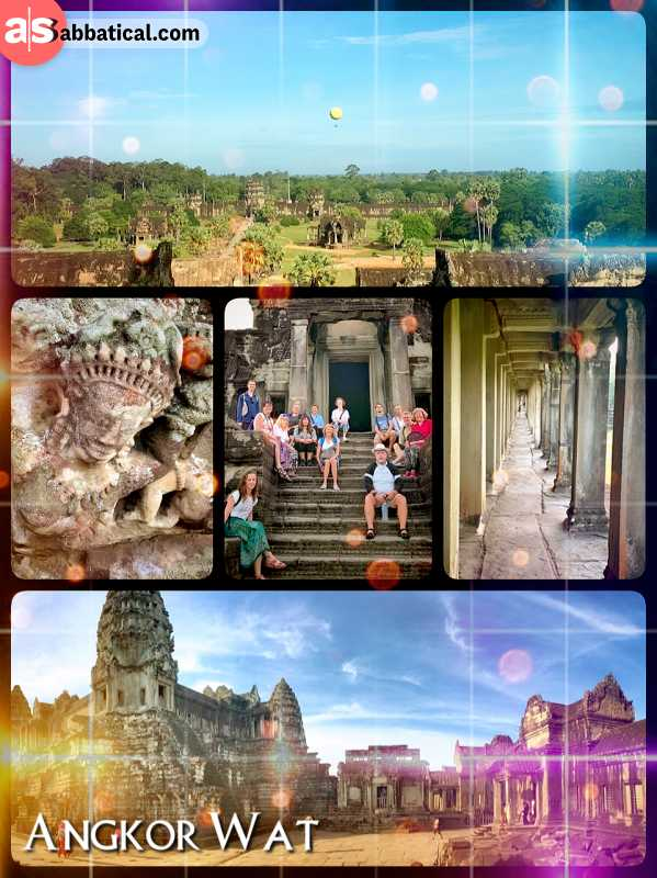 Angkor Wat - city of temples and the former capital of the Khmer Empire