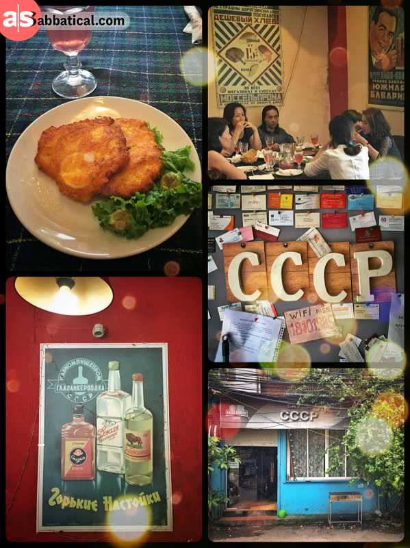 CCCP Cafe - having Russian lunch in an authentic soviet restaurant in Hanoi