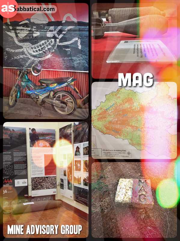 MAG Mine Advisory Group - Laos is still haunted by unexploded bombs dropped by America