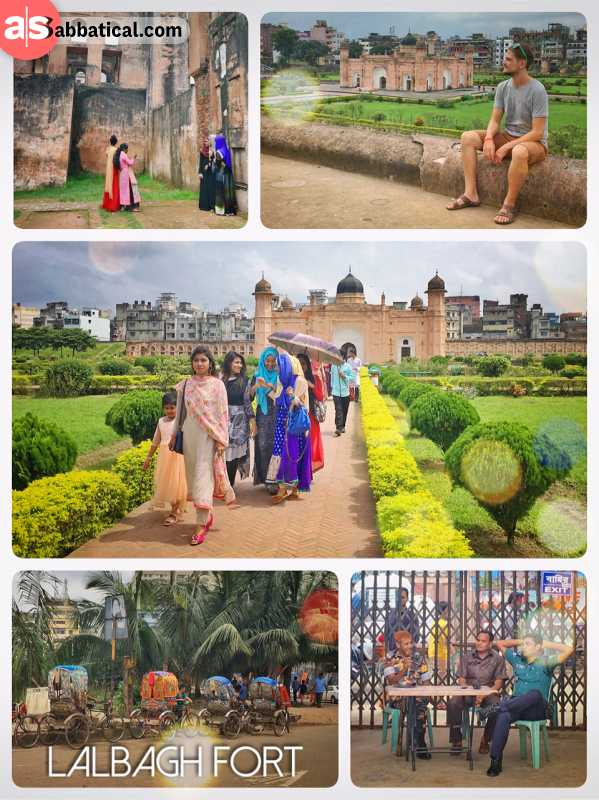 Lalbagh Fort - lovely remains of the mighty Mughal Empire in the heart of Dhaka