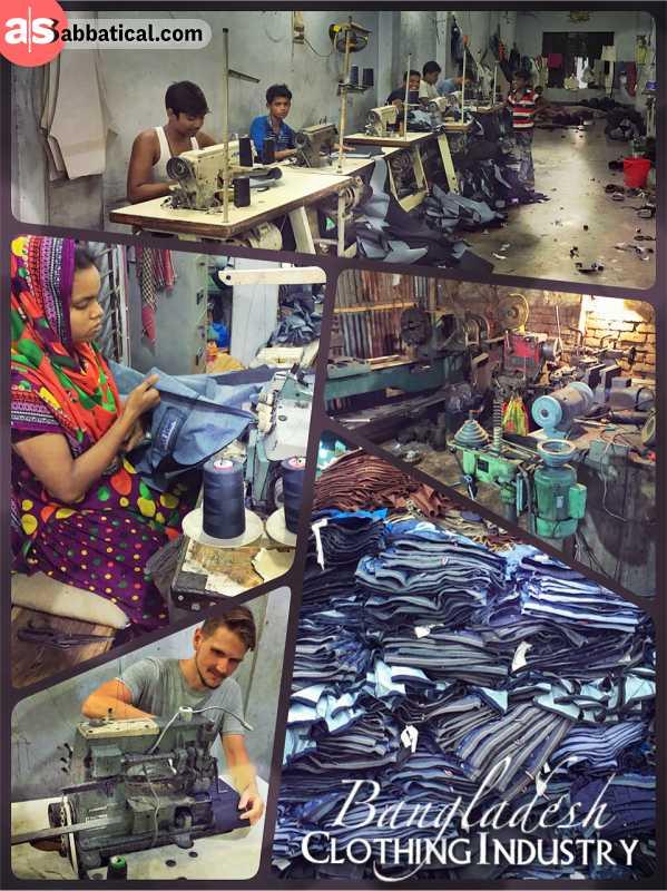 Clothing Industry Bangladesh -