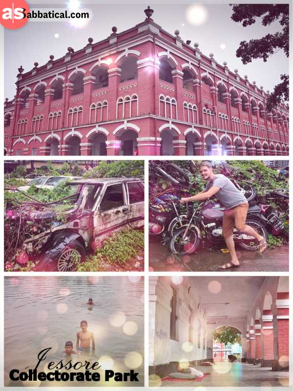 Jessore Collectorate Park - one of the oldest British buildings on the Indian subcontinent