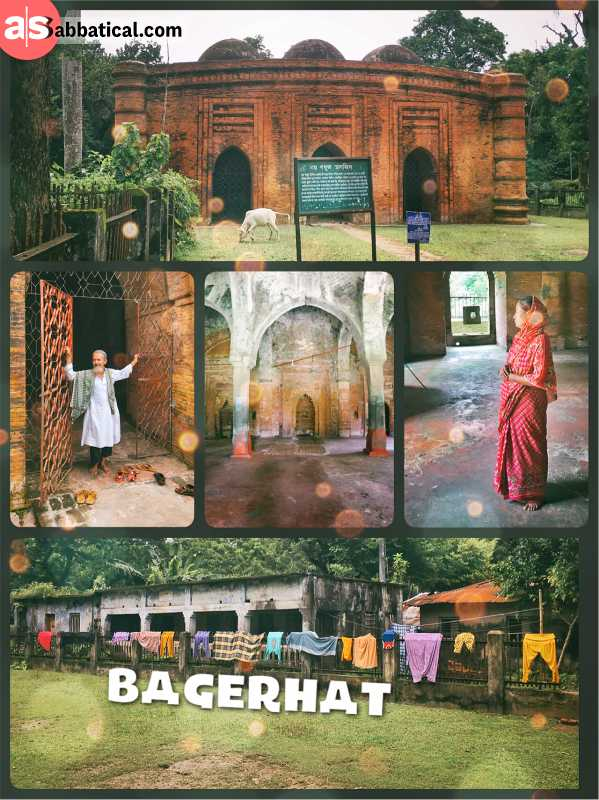 Bagerhat - architectural marvels make it the mosque city of Bangladesh