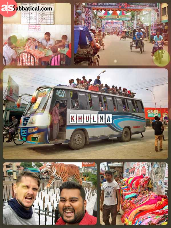 Khulna - third largest city of Bangladesh with 1 million people