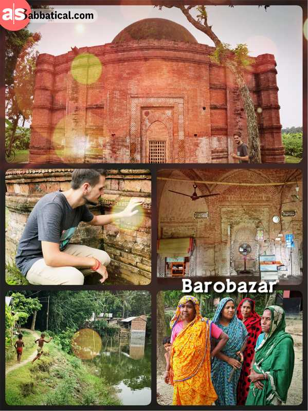 Barobazar - a series of ancient Mosques in a small village of West-Bangladesh
