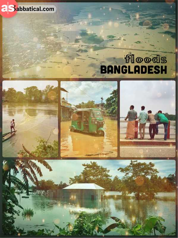 Floods in Bangladesh - Bangladesh is a natural floodplain effected by the yearly monsoon