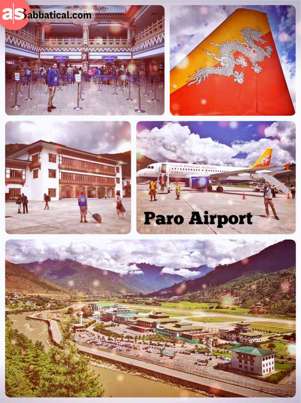 Paro Airport - save landing in one of the world's most dangerous airports
