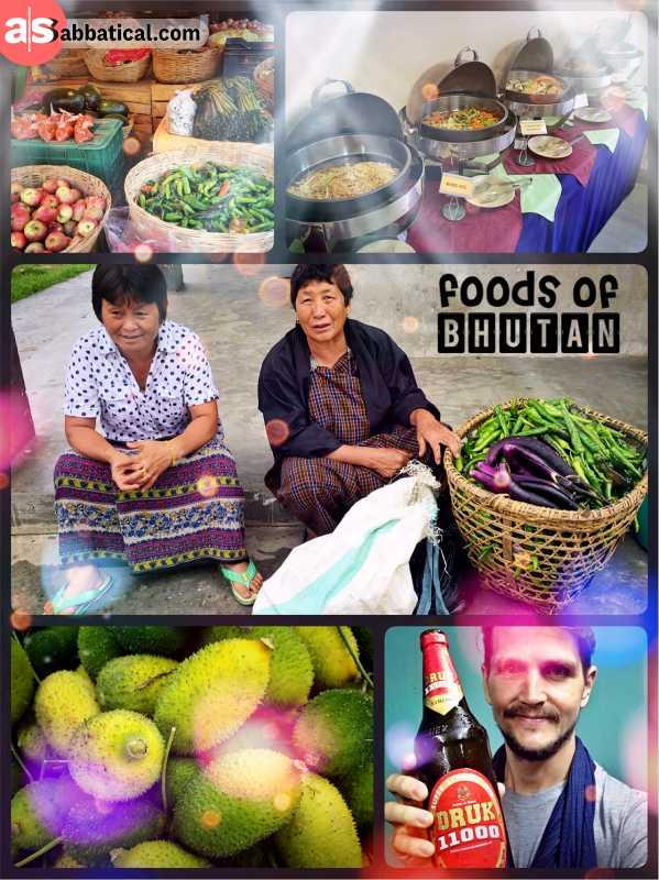 Foods of Bhutan - tasting local delicacies in Bhutan is not easy for travellers