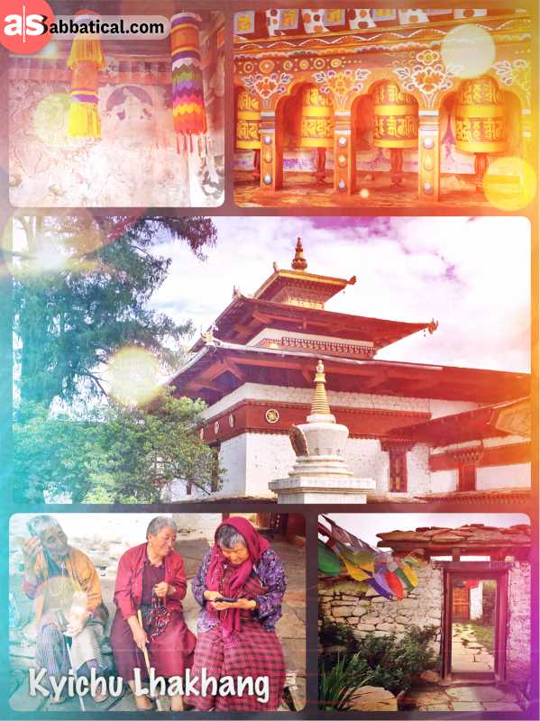 Kyichu Lhakhang - one of Bhutan's oldest Buddhist temples built by a Tibetan King