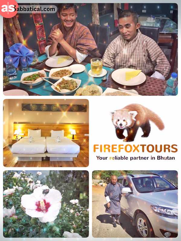Firefox Tours Bhutan - registered tour operator with the perfect Bhutan program