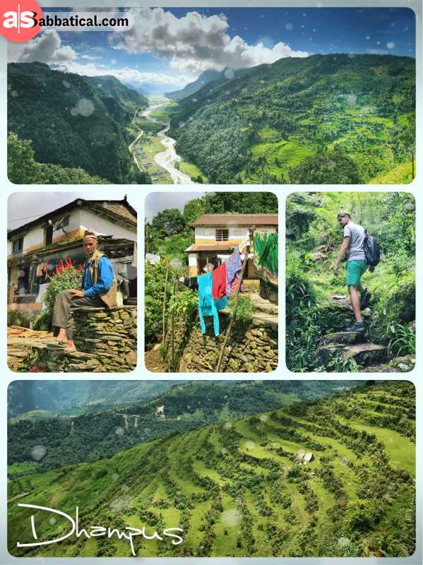Dhampus - laid back village in the Himalayas along the Australian Camp Trek