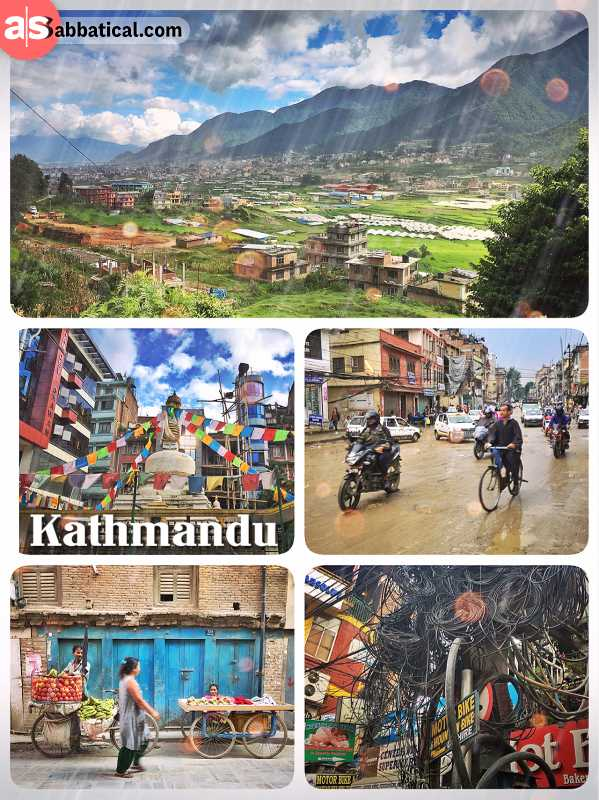 Kathmandu - from the gateway to the Himalayas to a dirty mega moloch