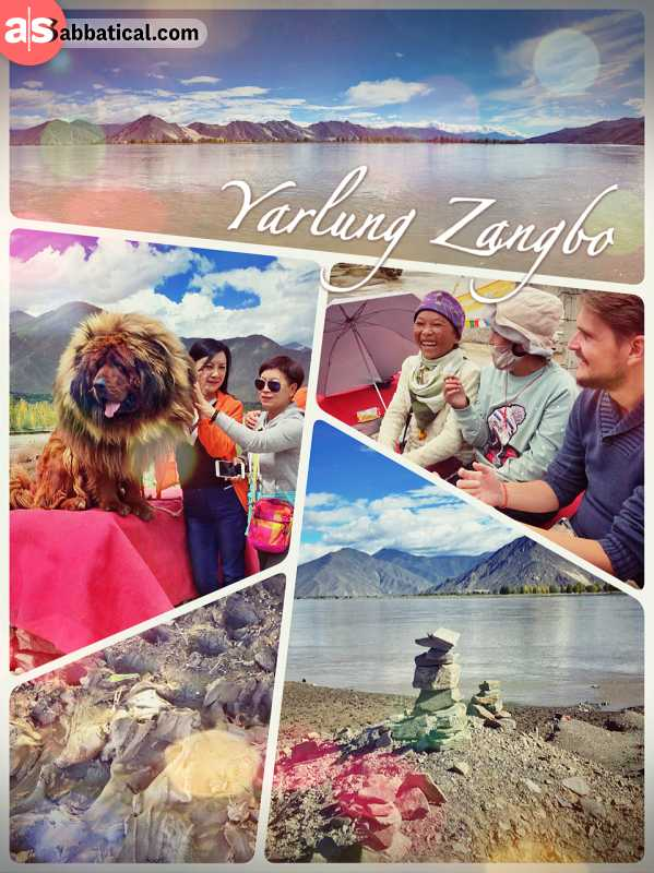 Yarlung Zangbo River - Tibet's longest river that joins the Ganges before the Bay of Bengal