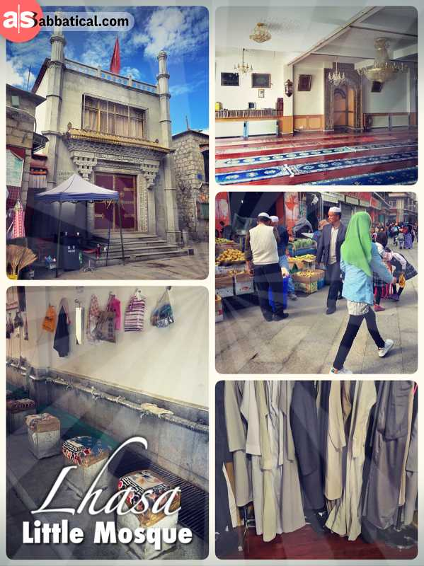 Little Mosque Lhasa -