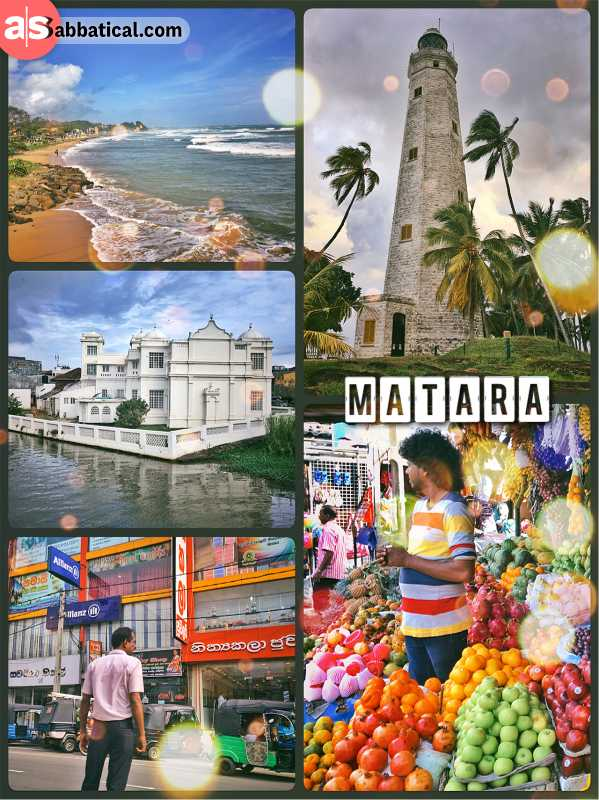 Matara - visiting the southernmost point of Sri Lanka, first stop of my road trip