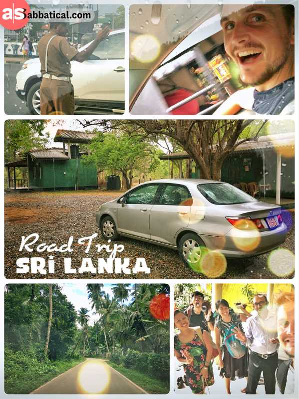 Sri Lankan Road Trip - driving around the island of Sri Lanka in a rented car and having fun