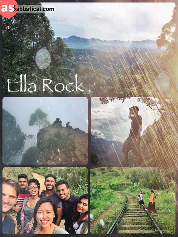 Ella Rock - amazing hike through nature with a great view (if not too foggy)