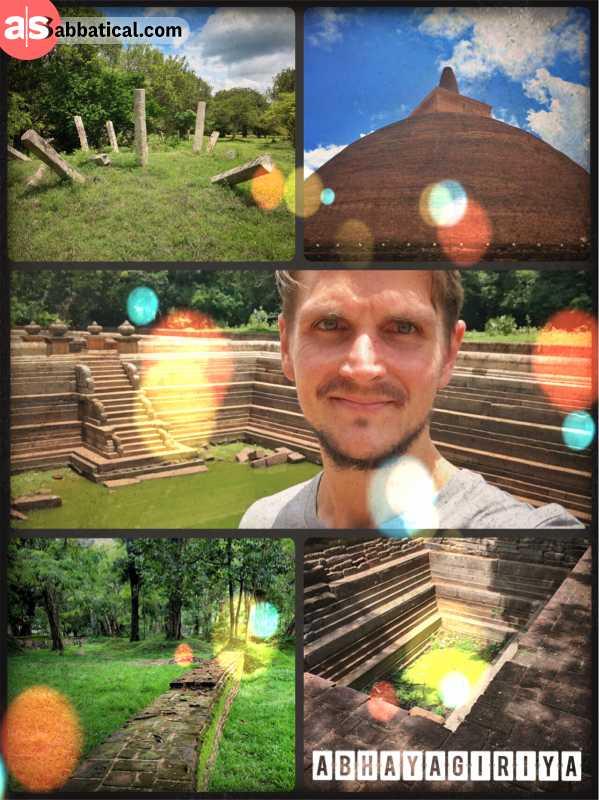 Abayagiriya Stupa -
