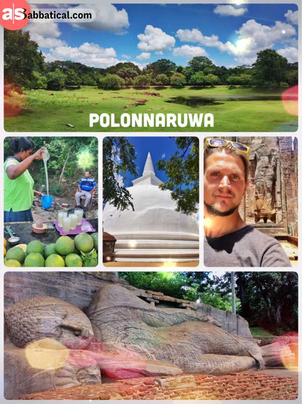 Polonnaruwa - ruined royal capital of the second ancient Kingdom of Sri Lanka