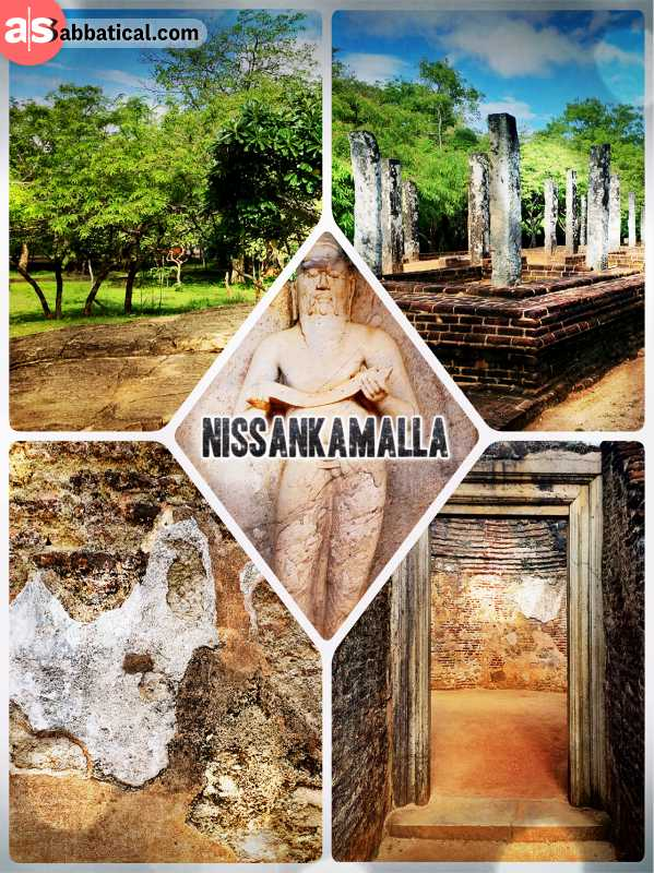 Nissankamalla - one of many Sri Lankan Kings with a special thing for architecture