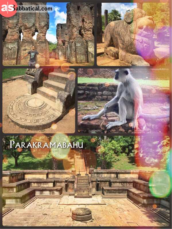 Parakramabahu - last Sri Lankan King to unite and rule the small island in Polonnaruwa