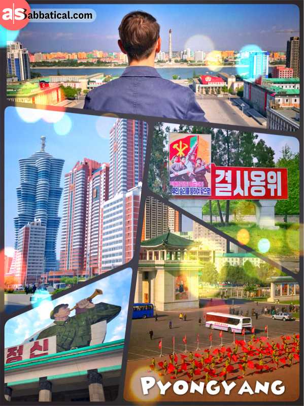 Pyongyang - exploring DPRK's capital (North Korea), one of the world's least visited cities