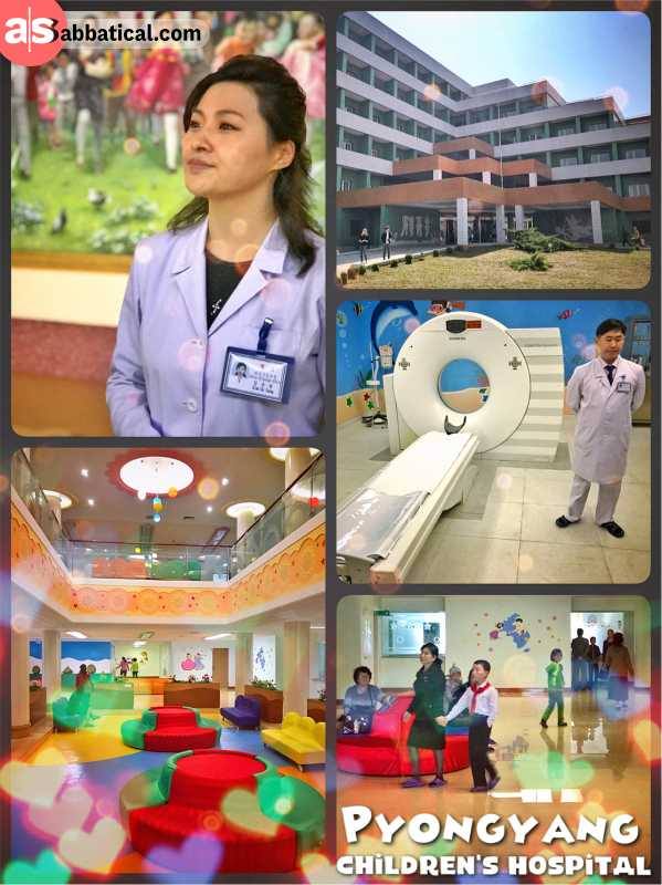 Pyongyang Children's Hospital - modern technology in a friendly environment for the country's elite
