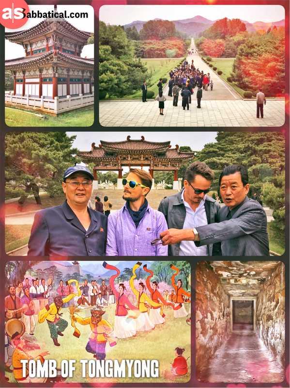 Tomb of KingTongmyong -