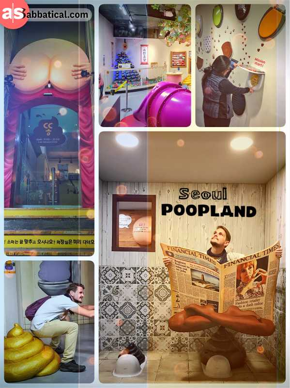 Poopland Seoul - obscure museum with an extensive exhibition all about excrements
