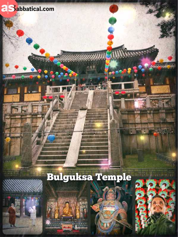 Bulguksa Temple - most important temple of Buddhism in South Korea and national treasure