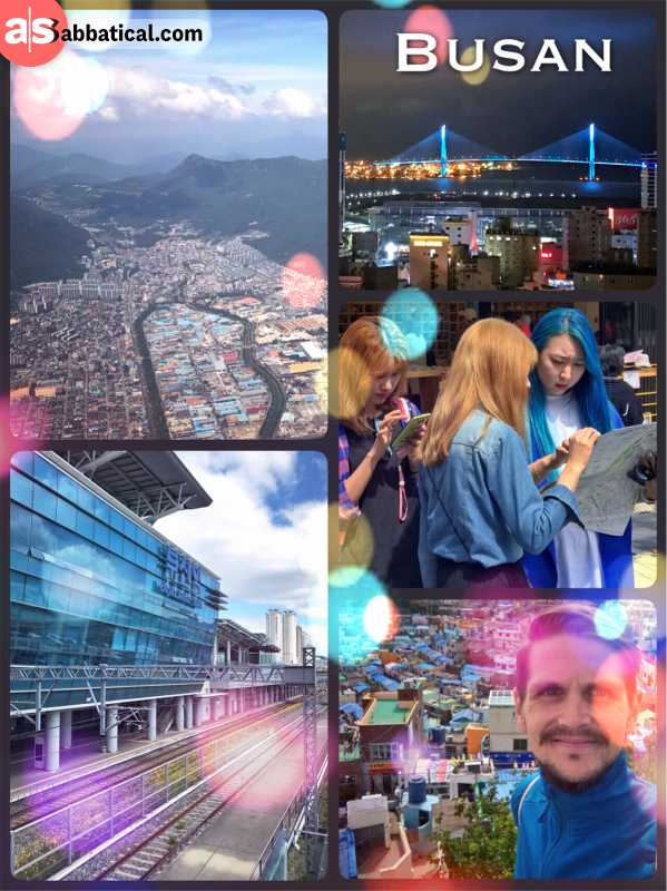 Busan - South Korea's second largest city is a comfortable and creative mega city