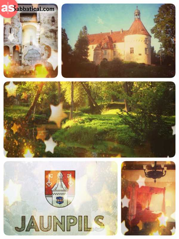 Jaunpils Castle - lovely Hotel with a medieval pub and a fairytale forest garden