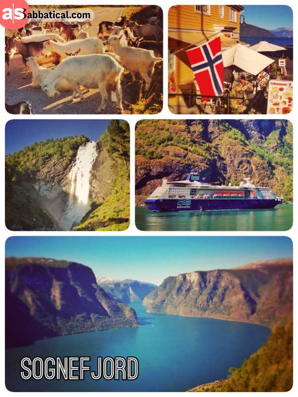 Sognefjord - driving through the world's longest tunnel to enjoy Norway's largest fjord