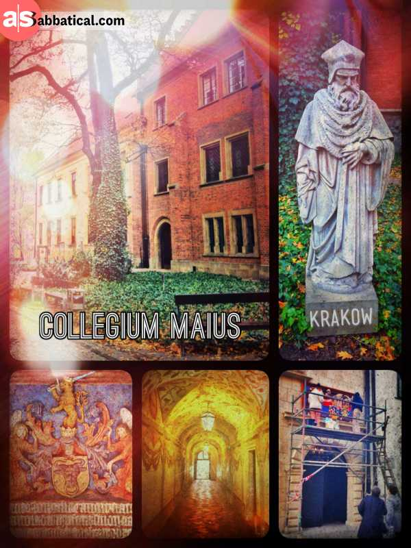 Collegium Maius - studying the world since a millennia