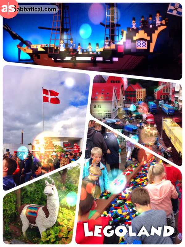 Legoland - spending one full day in the theme park dedicated to my childhood's dream