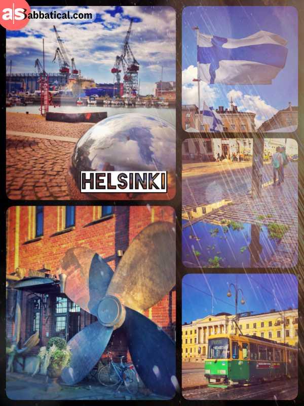Helsinki - nothing spectacular, no drunken people
