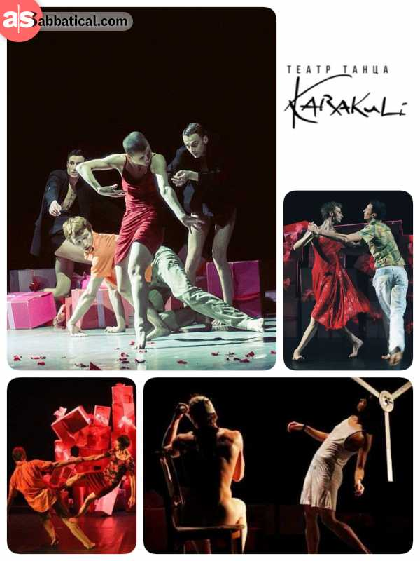 Karakuli Dance Theatre - great athletic provocative performance