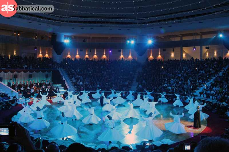 Mevlana Whirling Dervishes Festival is majestic!