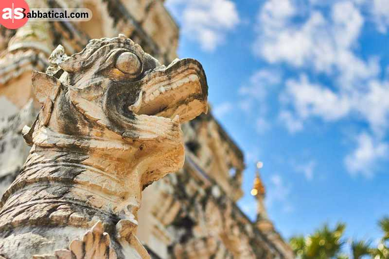 Wiang Kum Kam is the underground ancient city that was buried by flood in the area where Chiang Mai stands now.