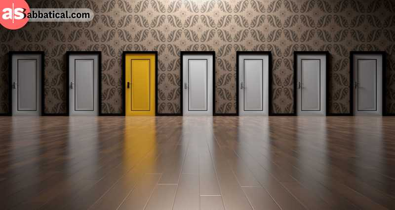 Complex situations where we can choose more than one choice often end up with a wrong choice.
