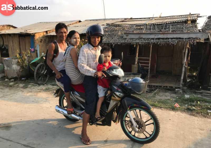 Way of transportation in Yangon