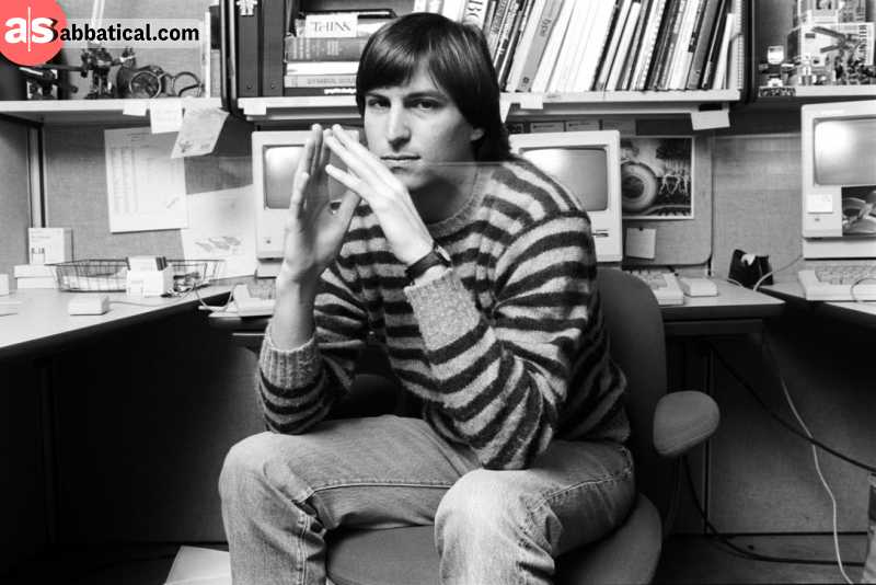 Young Steve Jobs was a technology enthusiast from a young age. Image courtesy of The Star.