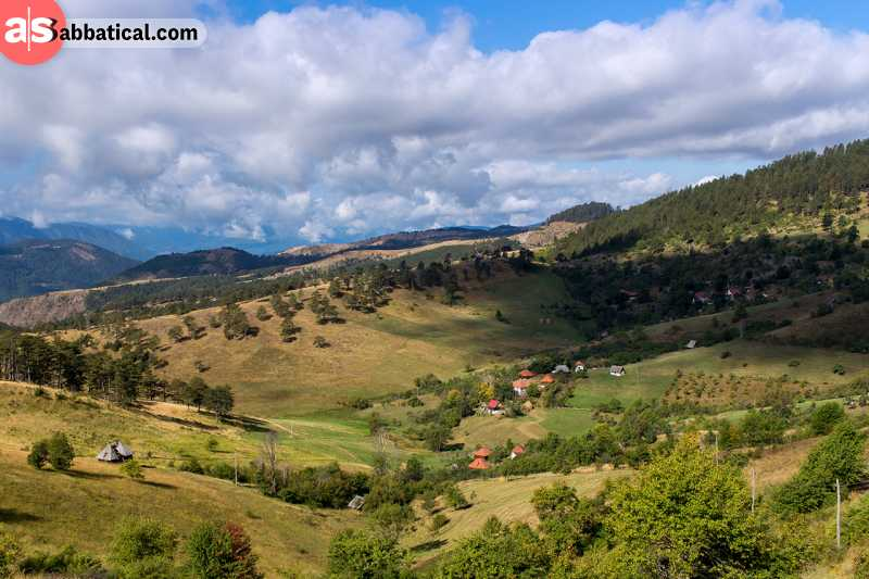 Zlatibor offers some of the best scenery in Serbia.