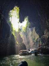Green Canyon in Indonesia is one of many Cheap places to travel