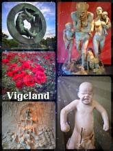 Vigeland Museum Oslo - admiring some of the most creative and expressionist scupltures