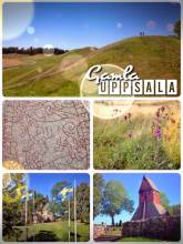 Gamla Uppsala - former religious, economic and political center of Sweden with royal graves